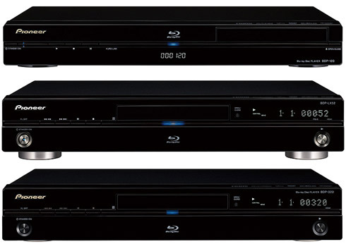 Pioneer blu-ray-spelers BDP-LX52 BDP-320 BDP-120