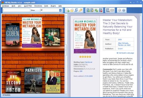 All My Books 1.6 screenshot (481 pix)