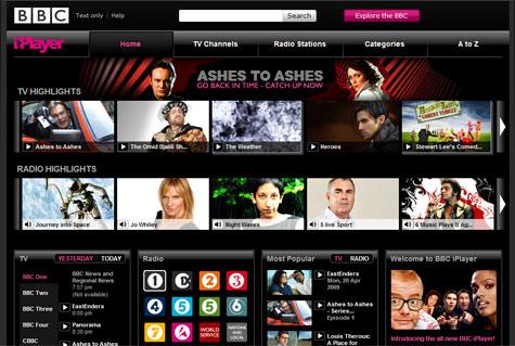 iPlayer-website