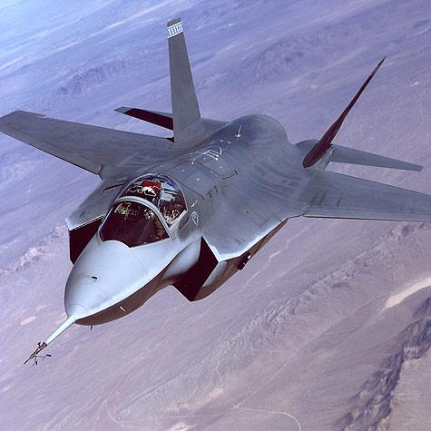F-35 Lightning II ook bekend als Joint Strike Fighter
