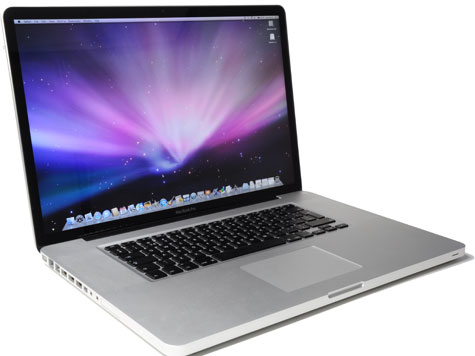 Macbook Pro (open)