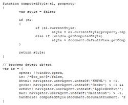 Devplan april 2009: Javascript origineel