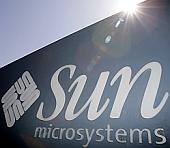 Sun Microsystems met zon (AP)