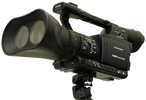 Panasonic 3d-videocamera