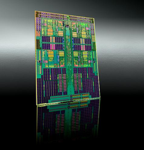 AMD Phenom II 955 die