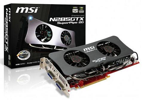 MSI N285GTX SuperPipe 2G