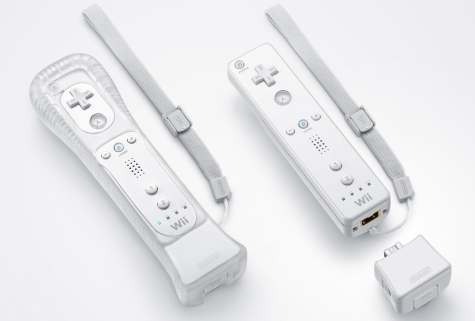 Wii-motes met Motion Plus blokje