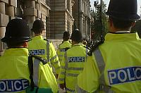 Britse politieagenten