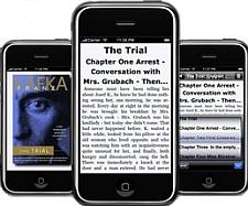 Stanza ebook-app voor iPhone, staand