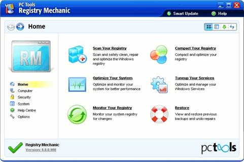 Registry Mechanic 8.0.0.900 screenshot (481 pix)
