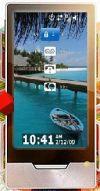 Mockup: Zune HD met Windows Mobile