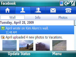 Facebook voor Windows Mobile