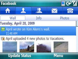 Facebook voor Windows Mobile