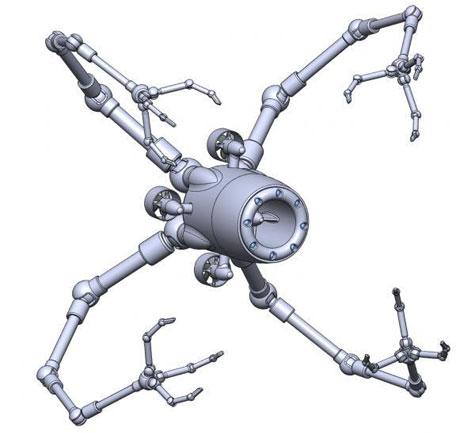 Robot met tastzin