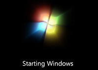 Windows 7-bootscherm