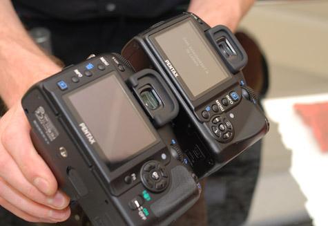 Pentax K-m versus K200D