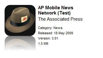 AP iPhone OS 3.0 Test App