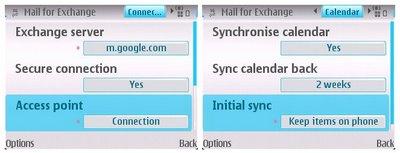 Google Sync voor Symbian S60