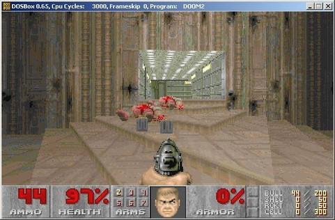 Doom 2 in DOSBox (481 pix)