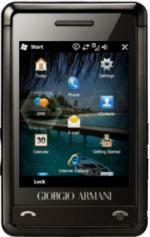 Mockup Samsung Armani met Windows Mobile