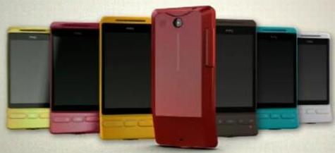 HTC Hero in zeven kleuren