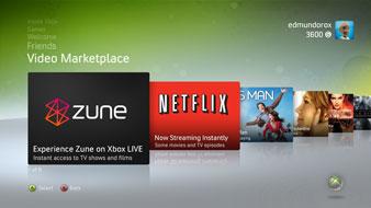 Nieuw mogelijkheden Xbox 360