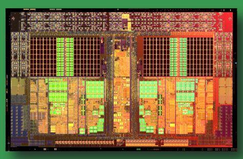 AMD Athlon II X2 Die