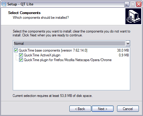 QT Lite 2.9.0 screenshot