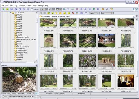 FastStone Image Viewer 3.9 screenshot (481 pix)