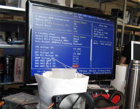 MOA 2009 zoeken naar betere overklok