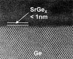 Toshiba strontium-germaniumlegering
