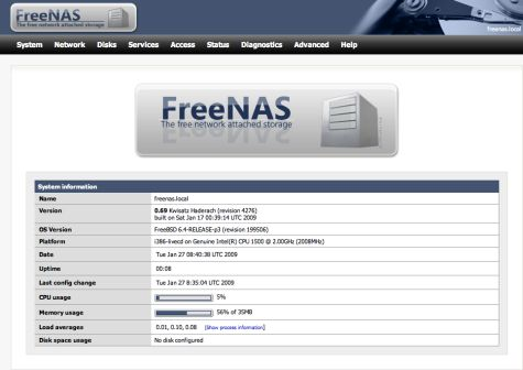 FreeNAS