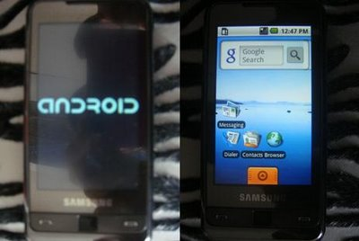 Samsung Omnia met Android