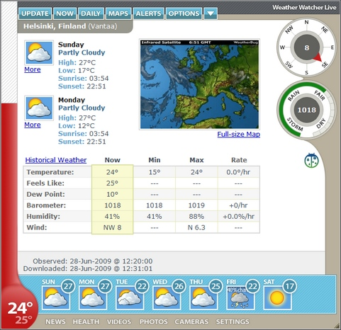 Weather Watcher Live 6.0.30 screenshot (481 pix)