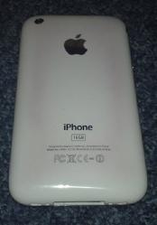 iPhone burned