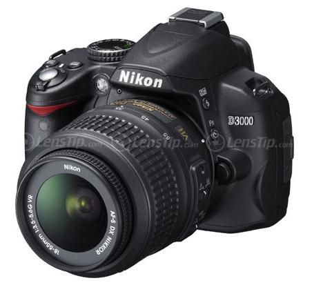 Nikon D3000 gerucht