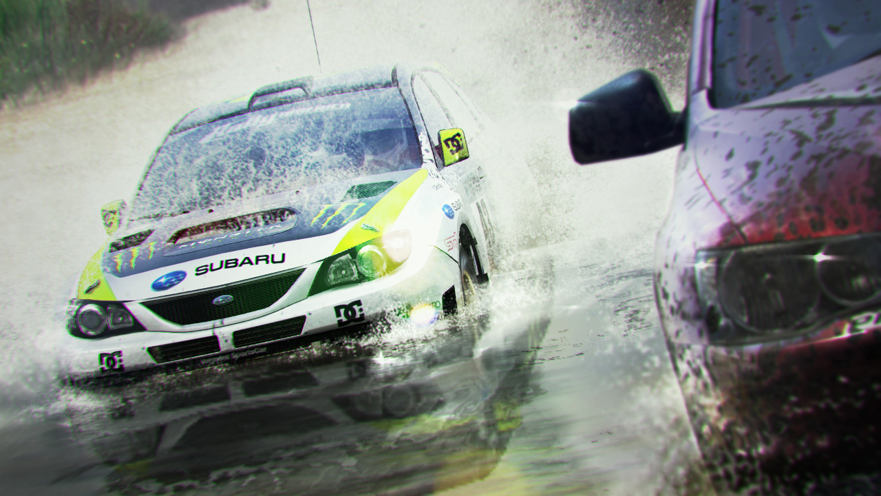 screenshots colin mcrae dirt 2 gaming nieuws tweakers. Black Bedroom Furniture Sets. Home Design Ideas