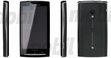 Sony Ericsson Xperia met Android