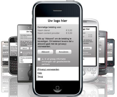 Mobilion-dienst voor mobiele betalingen