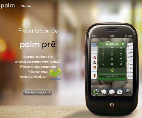 Palm Pre op Spaanse Palm-site