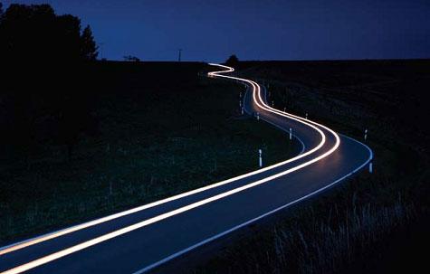Surfnet lichtpaden
