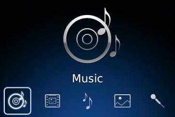 Muziek op Blackberry's