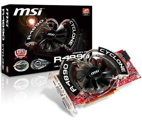 MSI HD 4890 Cyclone SOC