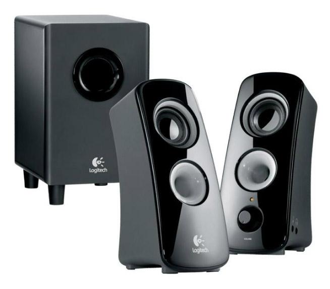nieuwe logitech speakers sturen geluid in elke richting. Black Bedroom Furniture Sets. Home Design Ideas
