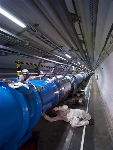 LHC reparatie
