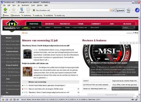 Mozilla SeaMonkey 2.0 screenshot (481 pix)