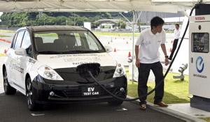 Nissan EV-11 opladen