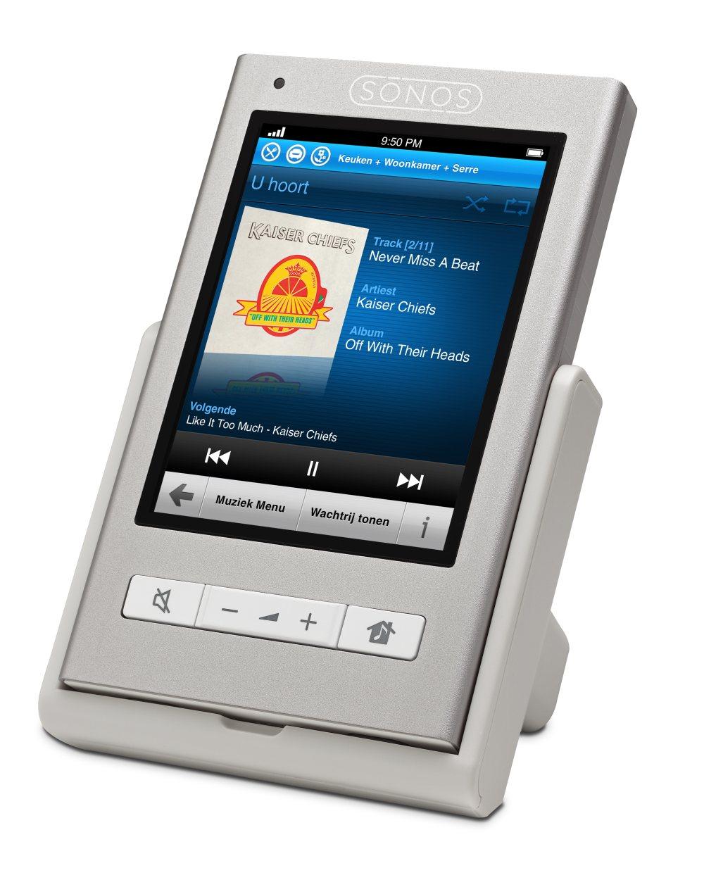 sonos brengt controller 200 met touchscreen bediening uit beeld en geluid nieuws tweakers. Black Bedroom Furniture Sets. Home Design Ideas