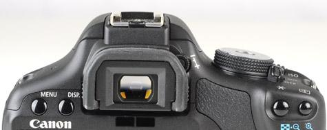 Canon Eos 500D recensie zoeker