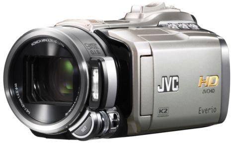 JVC Everio GZ-HM400 Memorycam